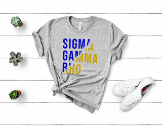 Sigma Gamma Rho Ripped Favorite T-Shirt