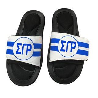 Sigma Gamma Rho Slide On Circle Sandals
