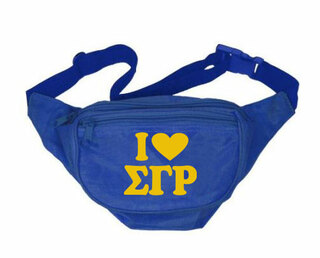 Sigma Gamma Rho Sorority Fanny Pack
