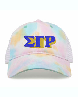 Sigma Gamma Rho Sorority Sorbet Tie Dyed Twill Hat