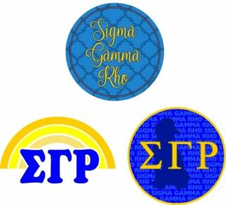 Sigma Gamma Rho Sorority Sticker Collection - SAVE!