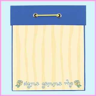 Sigma Gamma Rho Square Note Pad