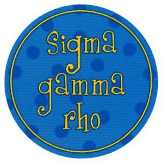 Sigma Gamma Rho Stickers