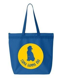 Sigma Gamma Rho Symbol Circle Mascot Tote Bag