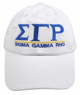 Sigma Gamma Rho World Famous Line Hat - MADE FAST!