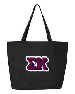Sigma Kappa 3D Letter Tote Bag
