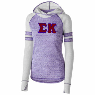 DISCOUNT-Sigma Kappa Advocate Lettered Hoody