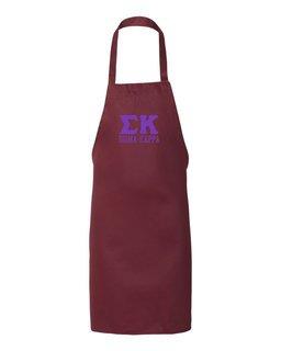 Sigma Kappa Large Apron