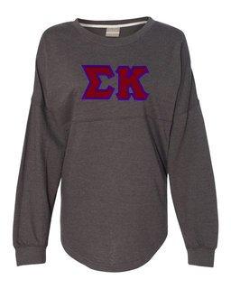 DISCOUNT-Sigma Kappa Athena French Terry Dolman Sleeve Sweatshirt