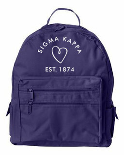 DISCOUNT-Sigma Kappa Mascot Backpack