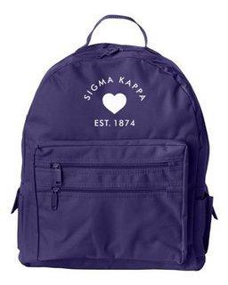 DISCOUNT-Sigma Kappa Mascot Backpack