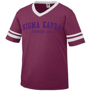 Sigma Kappa Boyfriend Style Founders Jersey