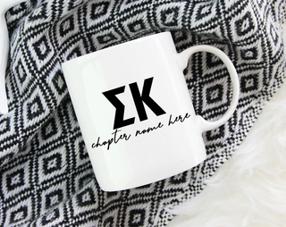 Sigma Kappa Chapter Mug