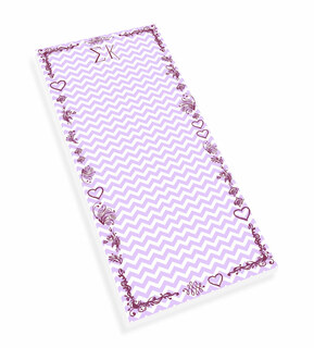 Sigma Kappa Chevron Long Notepad