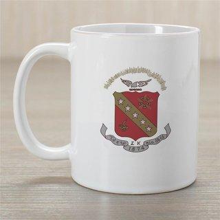 Sigma Kappa Crest Coffee Mug