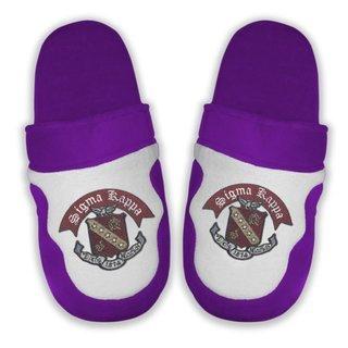 DISCOUNT-Sigma Kappa Crest - Shield Slippers