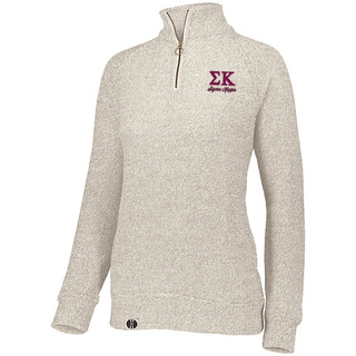 Sigma Kappa Cuddly 1/4 Zip Pullover