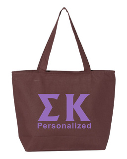Sigma Kappa Design Your Own Tote Bag
