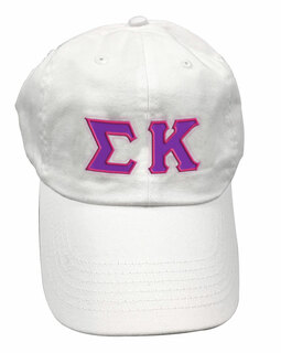 Sigma Kappa Double Greek Letter Cap