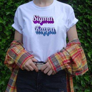 Sigma Kappa Echo Tee - Comfort Colors