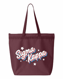 Sigma Kappa Flashback Tote bag