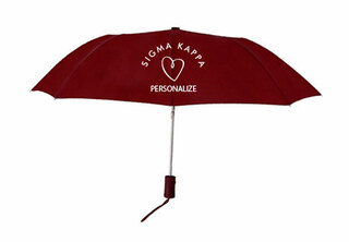 Sigma Kappa Mascot Umbrella