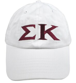 Sigma Kappa Greek Letter Hat