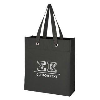 Sigma Kappa Grommet Tote Bag