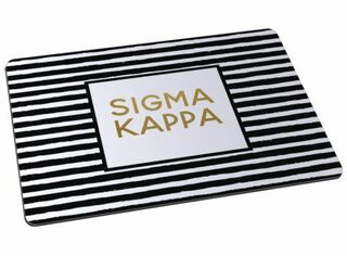 Sigma Kappa Striped Mousepads