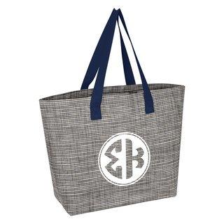 Sigma Kappa Heathered Mesh Tote Bag