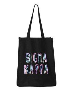 Sigma Kappa Jumbo All In Tote Bag