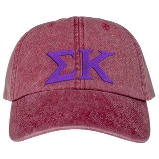 Sigma Kappa Lettered Premium Pastel Hat