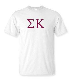 Sigma Kappa Lettered Tee - $9.95!
