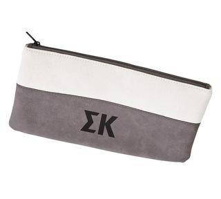 Sigma Kappa Letters Cosmetic Bag