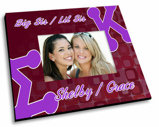 Sigma Kappa Mascot Color Picture Frame