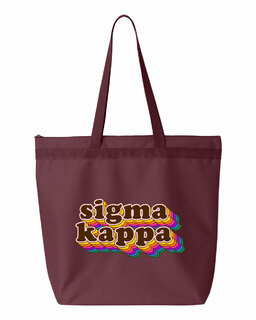 Sigma Kappa Maya Tote Bag