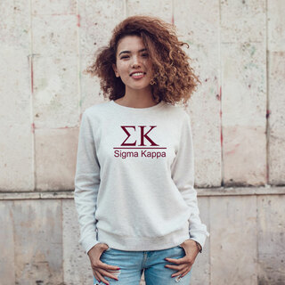 Sigma Kappa Message Sweatshirts