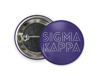 Sigma Kappa Modera Button
