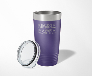 Sigma Kappa Modera Tumbler
