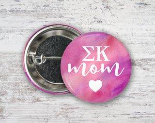 Sigma Kappa Mom Button