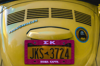 Sigma Kappa New License Plate Frame