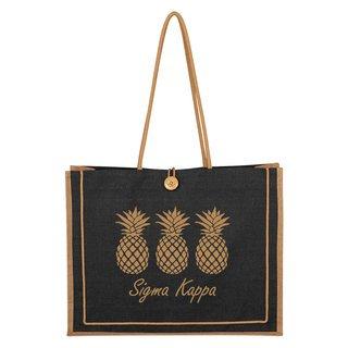 Sigma Kappa Paradise Jute Bag