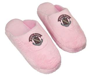 DISCOUNT-Sigma Kappa Pink Solid Slipper
