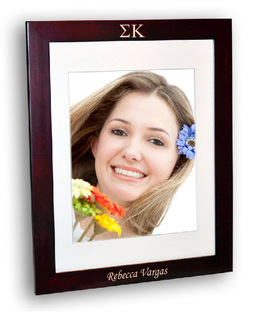 Sigma Kappa Rosewood Picture Frame