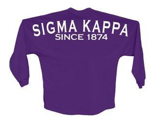 Sigma Kappa Since Jersey