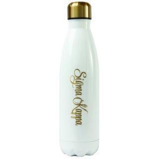 Sigma Kappa Stainless Steel Shimmer Water Bottles