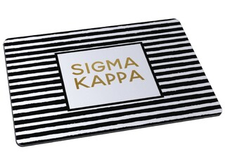 Sigma Kappa Striped Mousepad