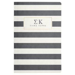 Sigma Kappa Striped Notebooks