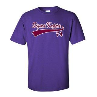 Sigma Kappa Tail T-Shirts