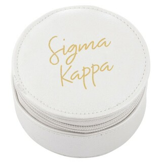 Sigma Kappa Travel Round Case